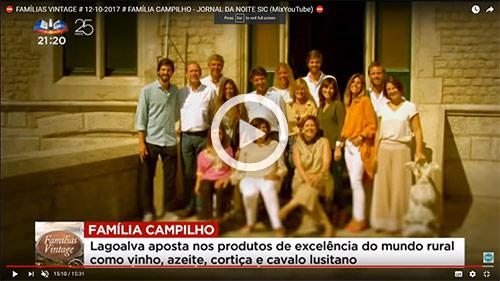 Lagoalva: reportagem Famílias Vintage - SIC